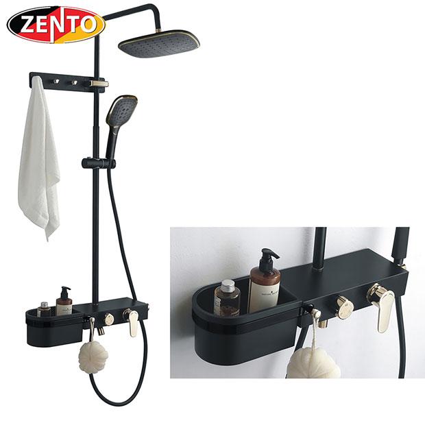 Bộ sen cây nóng lạnh Luxury Shower ZT8023-Black
