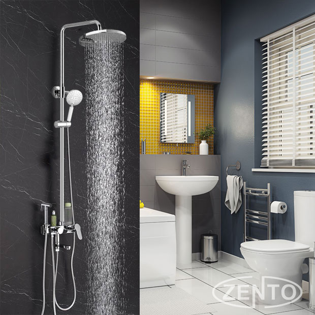 Bộ sen cây nóng lạnh 4in1 Zento ZT-ZS8061