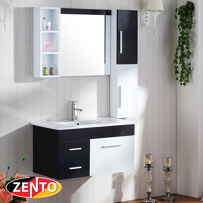 Bộ tủ, chậu, kệ gương Lavabo ZT-LV998