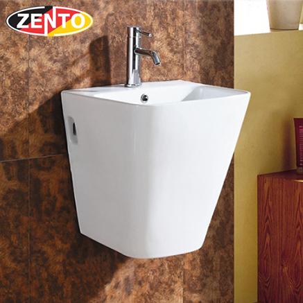 Chậu lavabo treo tường Luxury Zento LV500N-385 (5800D)