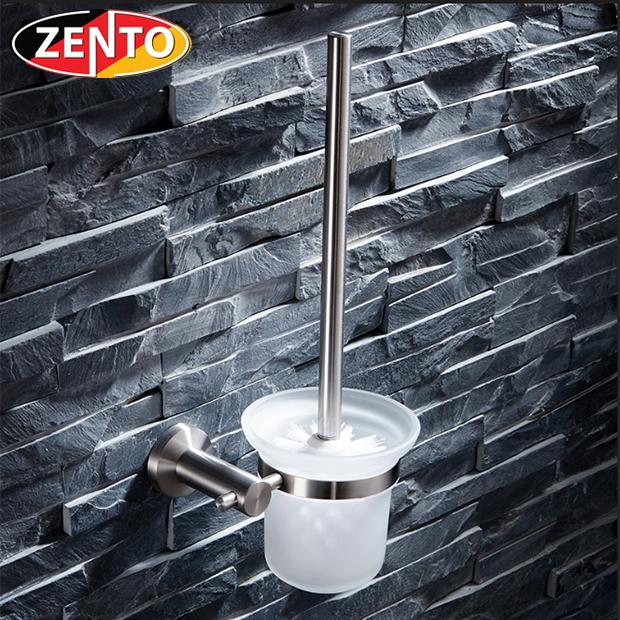 Bộ chổi cọ & kệ đỡ toilet inox304 HC0271