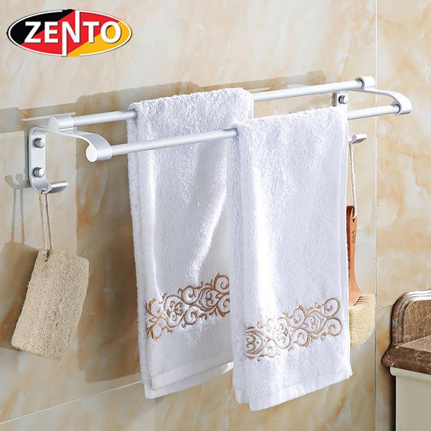 Giá treo khăn kép hợp kim nhôm Zento OLO-0825