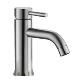 Vòi lavabo lạnh inox304 SUS2124 (D42mm)
