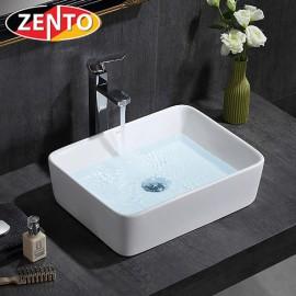 Chậu lavabo đặt bàn Zento LV6087 (480x370x130mm)