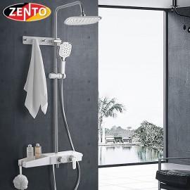 Bộ sen cây nóng lạnh Luxury Shower ZT8022-white