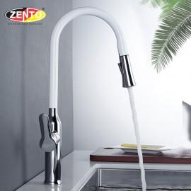 Vòi rửa chén bát nóng lạnh Pull-Down Spray ZT2090-W (Dây rút)
