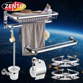 Bộ 7 phụ kiện phòng tắm inox Zento HA6506