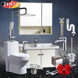 Combo 7 thiết bị vệ sinh cao cấp Zento BS17