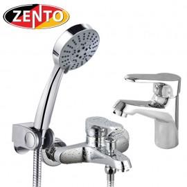 Cặp đôi sen tắm và vòi lavabo CB013