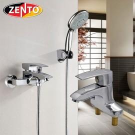 Cặp đôi sen tắm và vòi lavabo Zento CB022