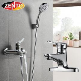 Cặp đôi sen tắm và vòi lavabo Zento CB026