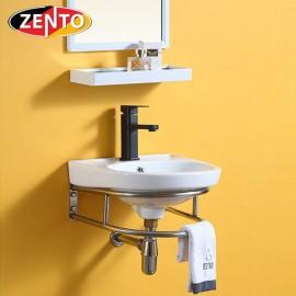 Chậu lavabo treo tường Zento LV6090 (8520)