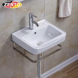 Chậu lavabo treo tường Zento LV6091 (8524)
