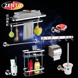 Bộ 8 phụ kiện phòng tắm inox Zento HA4600