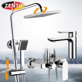 Combo sen cây & vòi lavabo Zento KM116