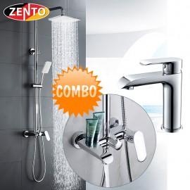 Combo sen cây & vòi lavabo  Crystal series KM118