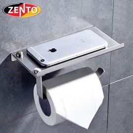 Lô giấy vệ sinh inox 304 Zento HC1273-2 (new)