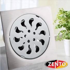 Phễu thoát sàn inox Zento TS151 (150x150mm)