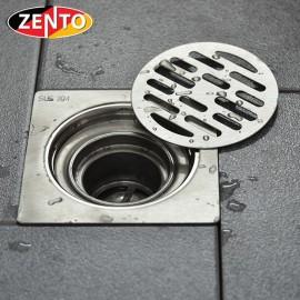Phễu thoát sàn chống mùi inox304 Zento TS323-2U (120x120mm)
