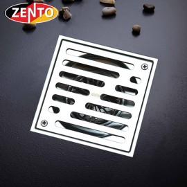 Thoát sàn chống mùi ban công inox304 Zento ZT560-2U (110x110)