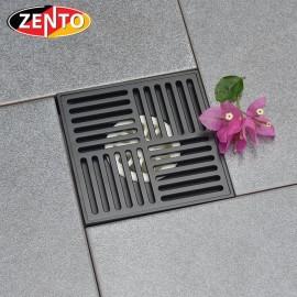 Thoát sàn chống mùi Black series Zento ZT672-1B (150x150mm)