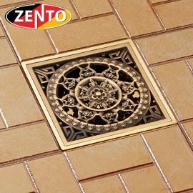 Thoát sàn chống mùi giả cổ 3D Zento ZT610