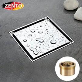 Thoát sàn chống mùi Square Shaped Zento ZT530-1AV (100x100)