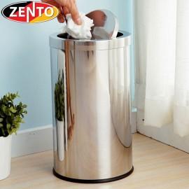 Thùng rác inox nắp lật 20L HC1260-20