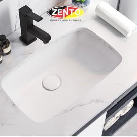 Chậu lavabo âm bàn LV903-F (560x380x190mm)