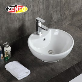 Chậu lavabo đặt bàn Zento LV028 (460x460x180mm)