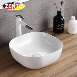 Chậu lavabo đặt bàn Zento LV1085 (400x400x150mm)