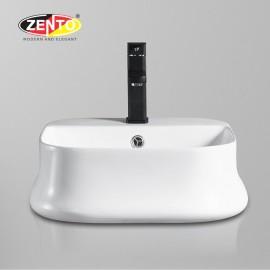 Chậu lavabo đặt bàn Zento LV1185A (460x460x160mm)