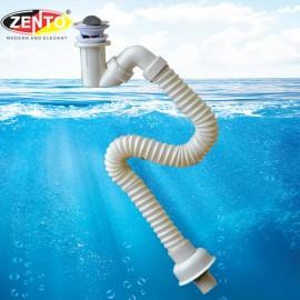 Bộ xi phông & ống xả mềm lavabo ZXP028-G