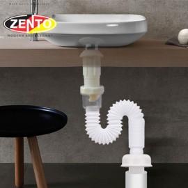 Bộ xi phông & ống xả mềm Zento ZXP029-Polished