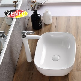 Chậu lavabo đặt bàn Zento LV1086
