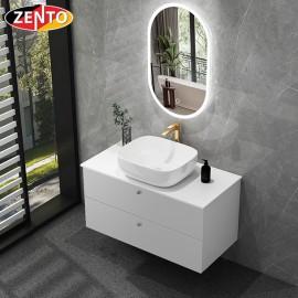 Bộ tủ, chậu, bàn đá, gương đèn led ZT-LV8973