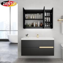Bộ tủ, chậu âm, bàn đá, kệ gương Lavabo ZT-LV8950