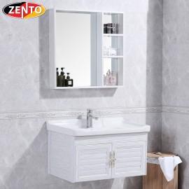 Bộ tủ, chậu, kệ gương Lavabo ZT-LV930 (Aluminum)