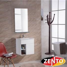 Bộ tủ, chậu, kệ gương Lavabo Zento ZT-LV961