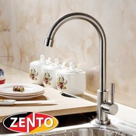 Vòi rửa bát đơn inox 304 Zento SUS4636