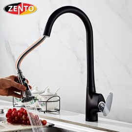 Vòi rửa bát nóng lạnh Pulldown Spray ZT5505-B&C (Dây rút)