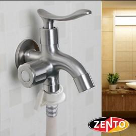 Vòi xả lạnh inox304 đa năng 2 đầu Zento SUS723