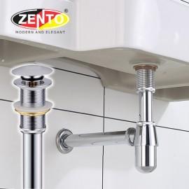 Bộ xi phông lavabo kín xả nhấn P-Trap ZXP117-C