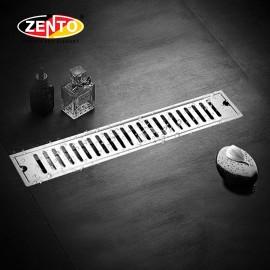 Thoát sàn inox304 Zento ZT451-40 (100x400mm)