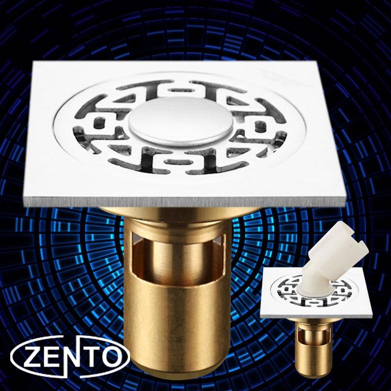 Phễu thoát sàn, máy giặt chuyên dụng Zento ZT-BJ507