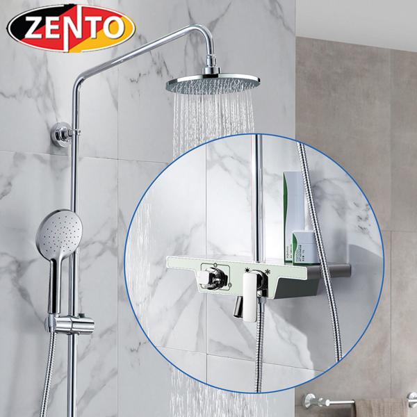 Bộ sen cây nóng lạnh Luxury Shower ZT8701-White