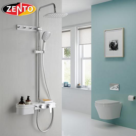 Bộ sen cây nóng lạnh Luxury Shower ZT8023-White