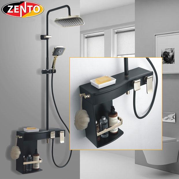 Bộ sen cây nóng lạnh Luxury Shower ZT8024-Black