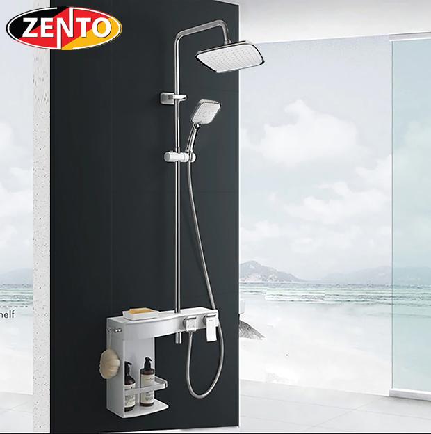 Bộ sen cây nóng lạnh Luxury Shower ZT8024-white