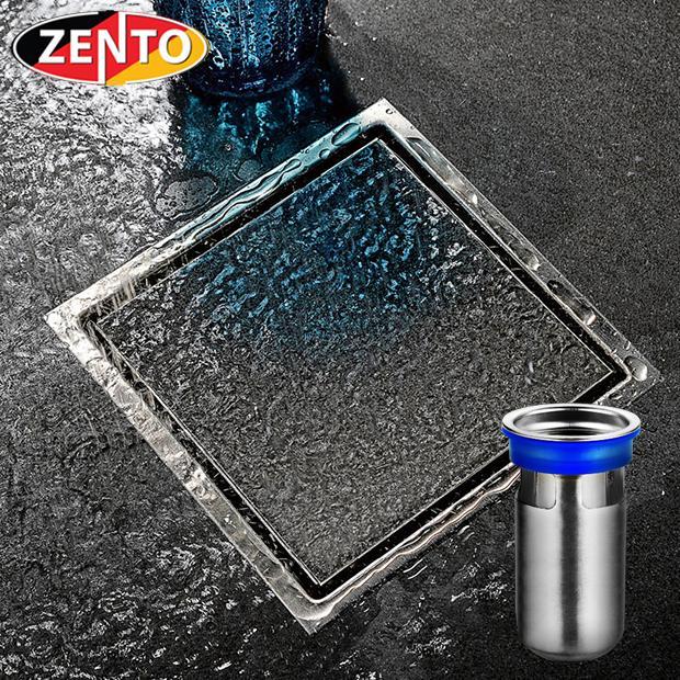 Thoát sàn chống mùi và côn trùng inox304 Zento ZT554 (150x150)